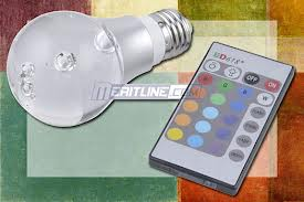Remote Controlled Colour Changing Light