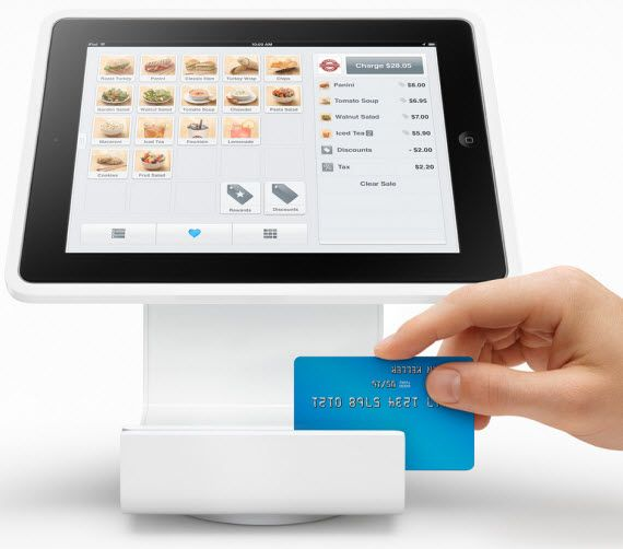 Square Stand for iPad – Cash Register
