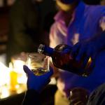 Bottle to Glass and Used Glass Adam Gibson Photographer — at MONA - Museum of Old and New Art
