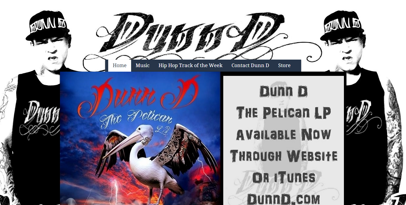 DunnD.com Oz Hip Hop Website by Tim Heath Solutions