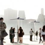 Street Charging Solar Power